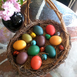 Quail and Hen Eggs for Easter