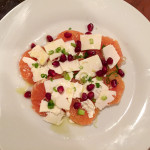 Cara Cara Orange Salad with Ricotta Salata & Pomegranate Seeds