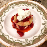 Old-Fashioned Strawberry Shortcake with Sweet Biscuit