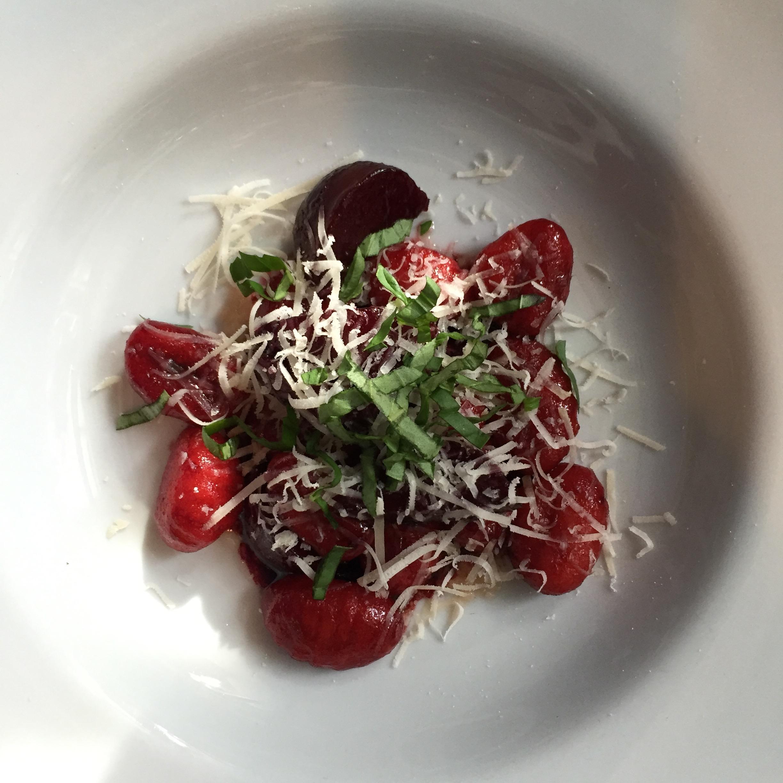 Fresh Beet Gnocchi