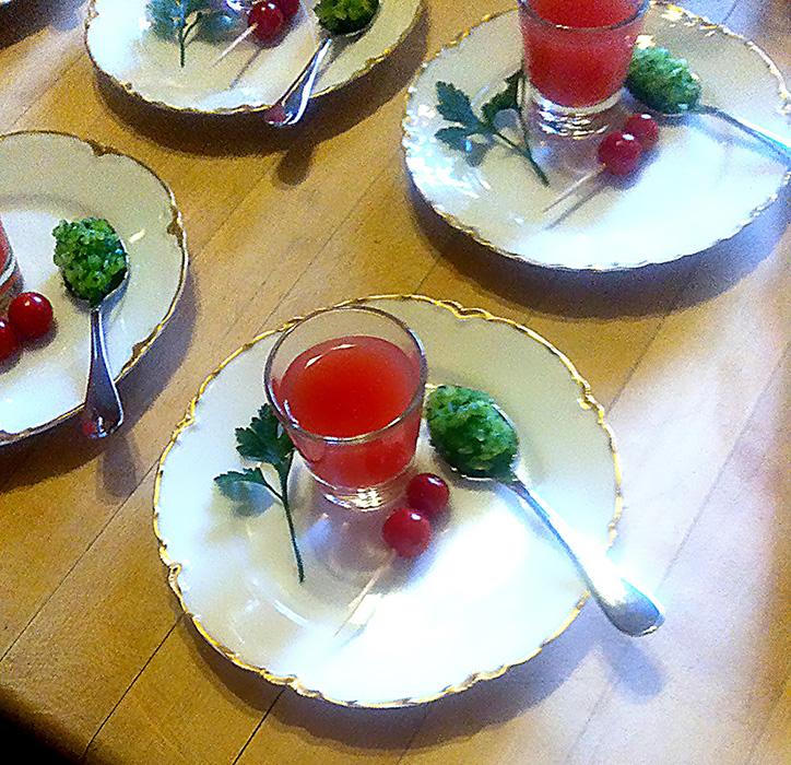 Tomato Water Shots